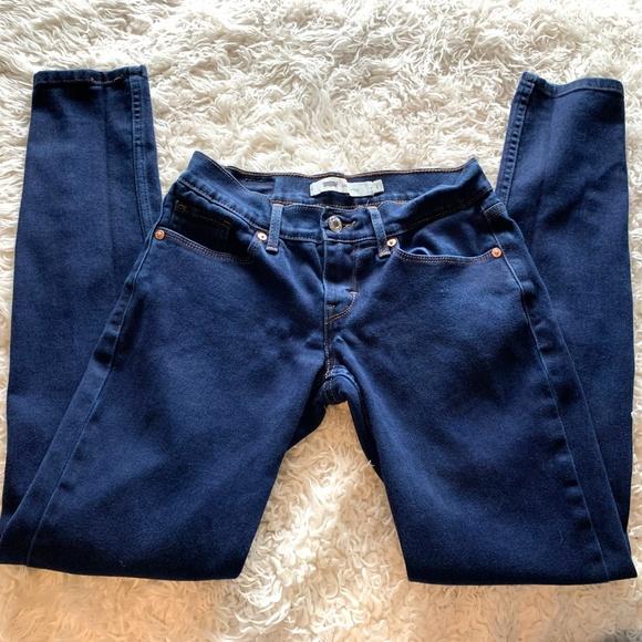 Levi's Denim - Levi's 524 Dark Wash Skinny size 1 Jean